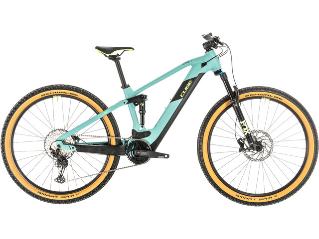 Cube Stereo Hybrid 120 Race 500, frozengreen'n'green